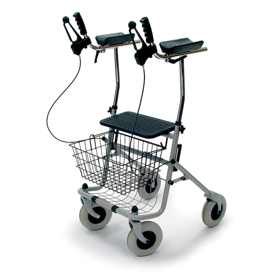 Rollator for arthritis. The best help on the go.