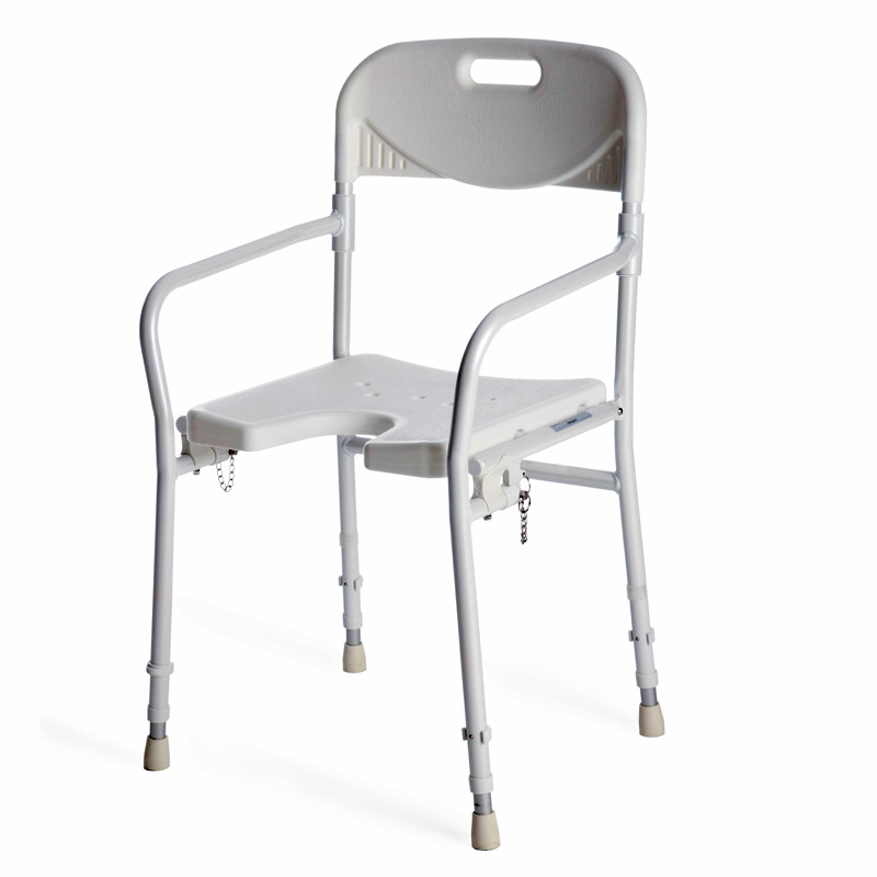 Easy folding, robust and adjustable height.